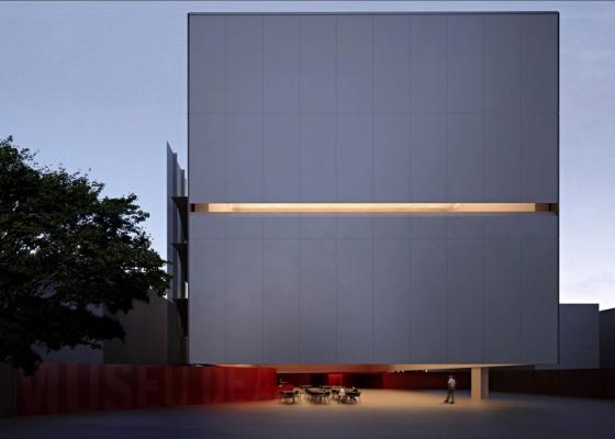 Perspectiva eletrônica do Museu de Arte Moderna de Santos, de Paulo Mendes da Rocha e Metro Arquitetos. O projeto será apresentado ao público no próximo dia 29 de setembro