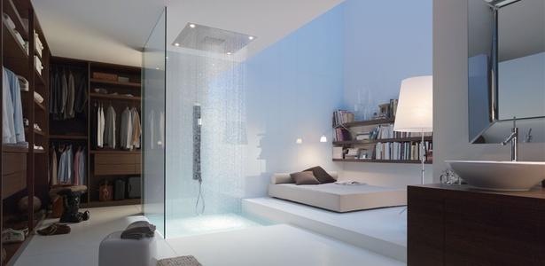Chuveiro da linha Starck Shower Collection, da Axor, marca da alemã Hansgrohe, desenhada pelo designer francês Philippe Starck e apresentada na feira Kitchen and Bath, em São Paulo