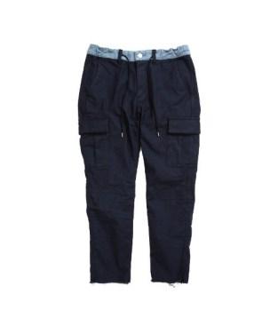 「BLUEY ブルーイ CROPPED CARGO PANTS イージー クロップド デニム/カーゴパンツ 13B19PA15SA SAFARI12月号掲載ブランド」の画像検索結果