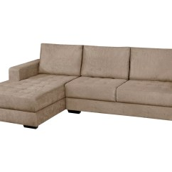 Sofa Chaises Set Lazada Sofá Chaise 2 Lugares Suede Nápole American Comfort