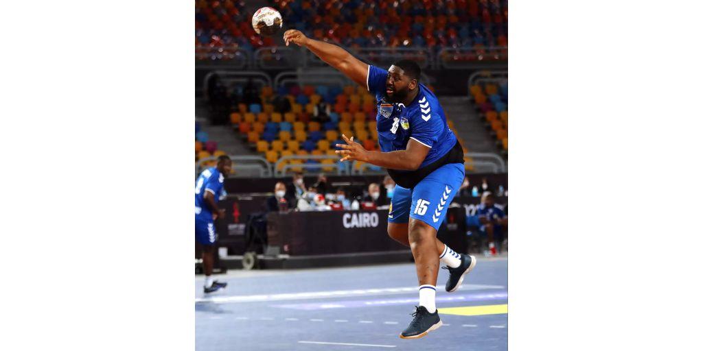 kongo koloss feiert sieg an handball wm