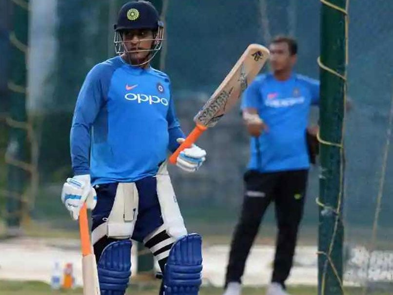 Asia Cup 2018: MS Dhoni Bats In Full Flow At Nets As India Gear Up For Pakistan Clash. Watch