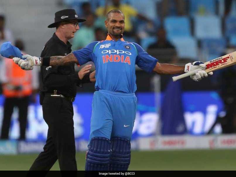 Asia Cup 2018: Shikhar Dhawan Scores 14th ODI Century As India Dominate Hong Kong