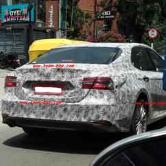All New Toyota Camry Grand Avanza Semisena Next Gen Spotted Testing In India Ndtv Carandbike