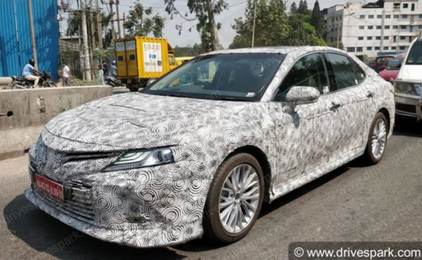 all new camry india launch launching grand avanza next gen toyota spotted testing in ndtv carandbike
