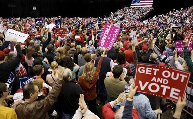US Midterm Election Live: Trump's Presidency Faces First Major Voter Test