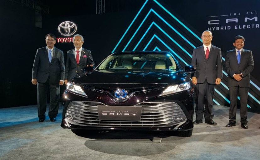 all new toyota camry warna grand avanza 2018 hybrid 2019 launched in india priced at rs 36 95 lakh
