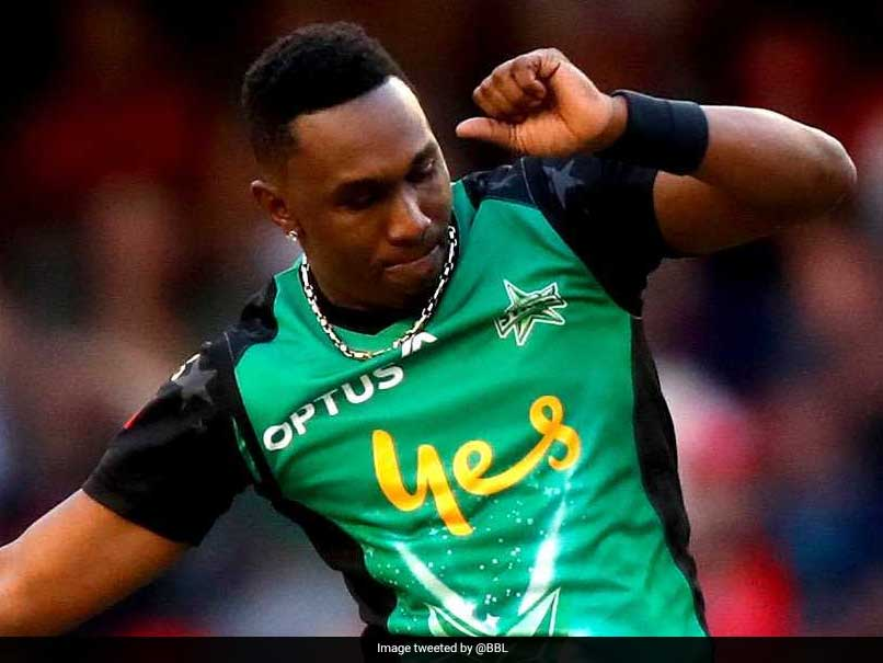 Watch: Dwayne Bravo Wows Fans With Wonder Catch In Big Bash League