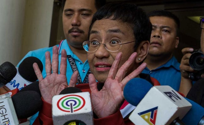 Philippine Journalist Maria Ressa Convicted In Cyber Libel Case