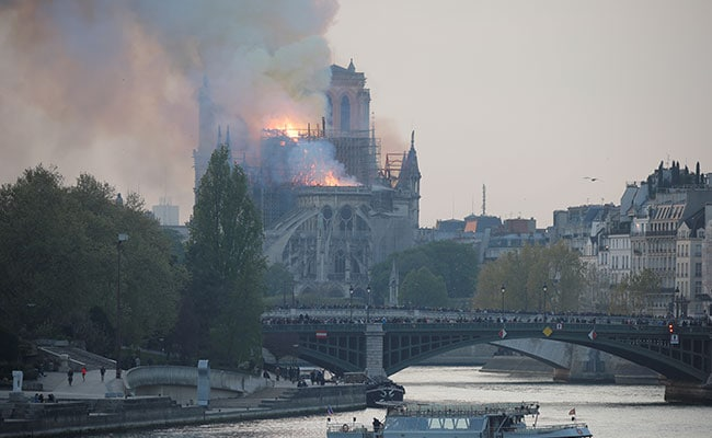 Major Fire In Notre Dame Cathedral In Paris, Roof Collapses: LIVE Updates