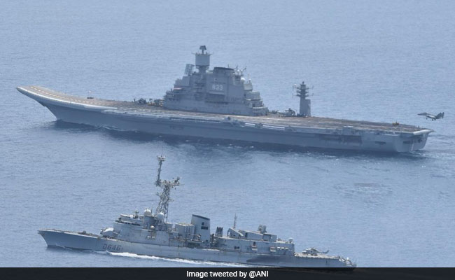 Indian And French Navies Begin 3-Day Wargame In Arabian Sea