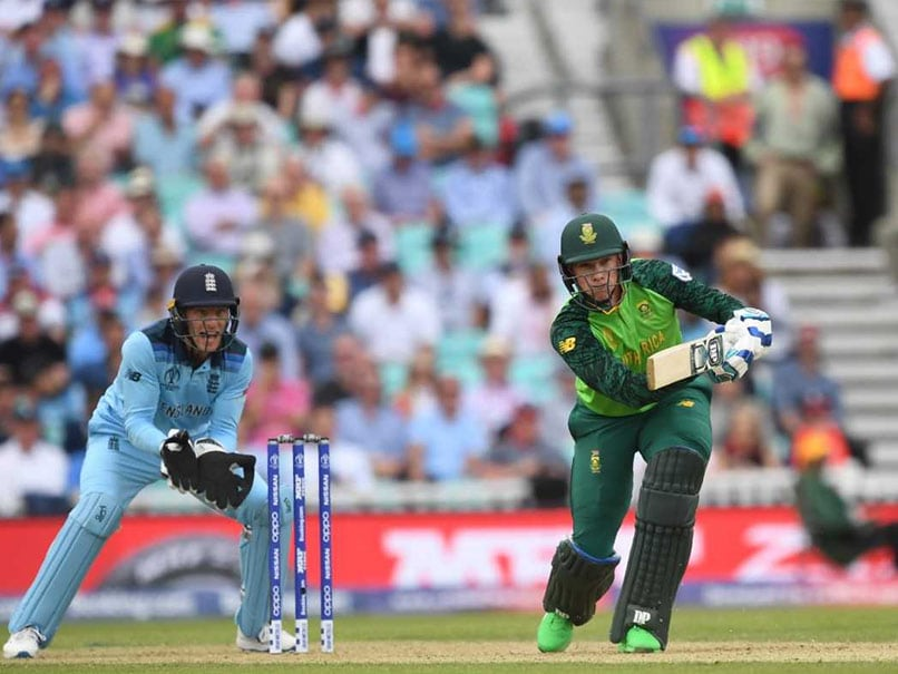 England vs South Africa Live Cricket Score, Cricket World Cup 2019: Jofra Archer Strikes Thrice As Rassie Van Der Dussen Falls After Fifty