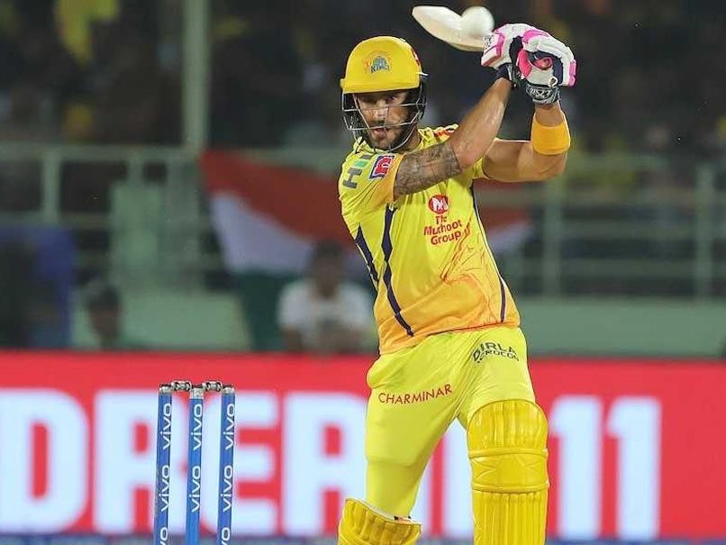 "Chennai Super Kings Players ""Share The Load In Winning Games"", Says Faf Du  Plessis 