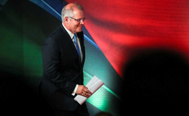 "Image result for Morrison's Liberal-led conservative coalition has won or is leading in 76 seats, the number needed to form a majority government, according to the Australian Electoral Commission. Slightly more than three-quarters of the roughly 17 million votes have been counted.  A jubilant Morrison hugged community members after an early Sunday service at the Horizon Church in Sydney's southern suburbs, from where he was first elected to parliament in 2007.  ""You don't get to be a prime minister and serve in that capacity unless you first are a member of your local electorate,"" he said.  He drew cheers later on Sunday when he arrived in the stands to watch his team, the Cronulla Sharks, in a rugby league match in his beachside electorate."