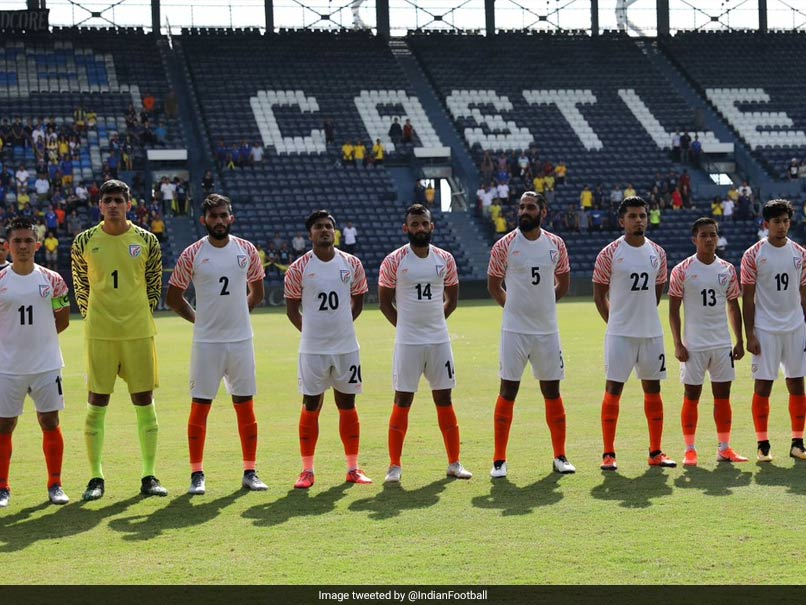 Indian Football Team To Face Tajikistan In Intercontinental Cup Opener