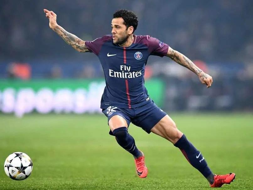 Dani Alves Leaves Paris Saint-Germain