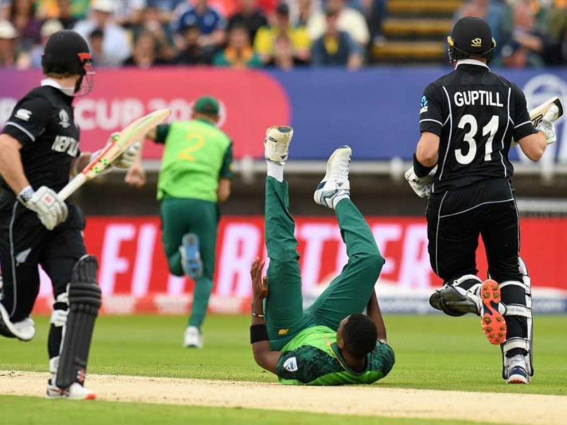 New Zealand vs South Africa Live Score, World Cup 2019: World Cup Live: Martin Guptill, Kane Williamson Steady New Zealand In Chase Of 242