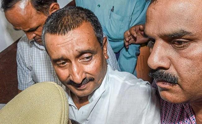 BJP Withdraws Candidature Of Kuldeep Sengar's Wife For UP Panchayat Polls