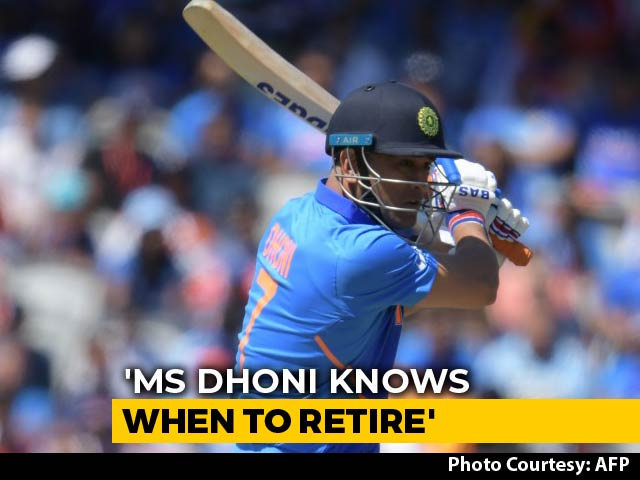 Dhonis Retirement Plans Are Nowhere To Be Seen