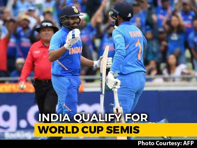 India Confirms SemiFinals Berth By Beating Bangladesh In CWC 2019