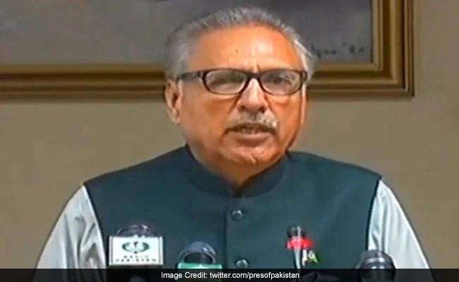 Pakistan President, Defence Minister Test Positive For Coronavirus