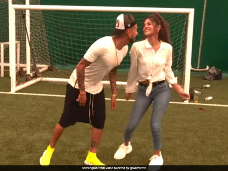 "Watch: Argentine Footballer Dances To ""Shah Rukh Khan"