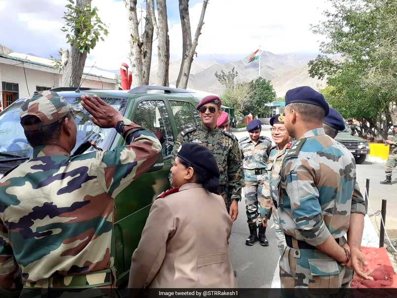 MS Dhoni Celebrates 73rd Independence Day In Ladakh: Reports