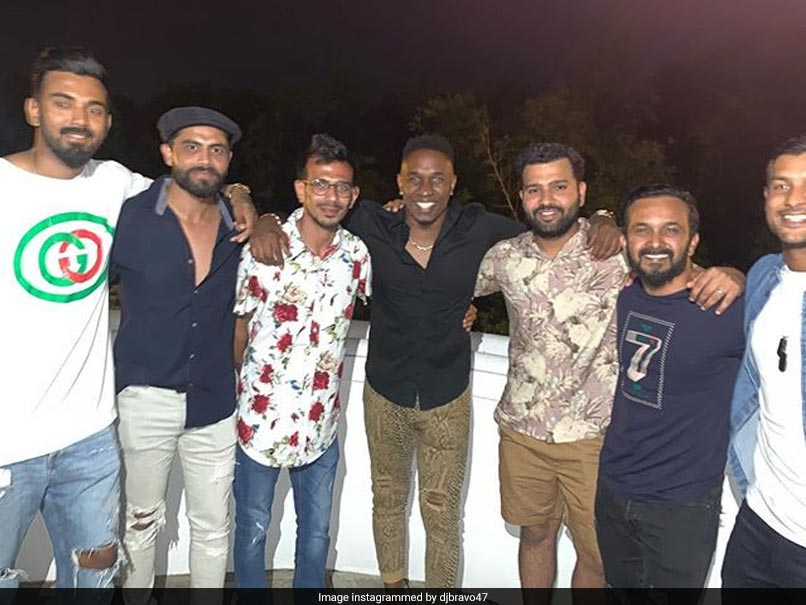 Team India Cricketers Attend Party At Lara's Place