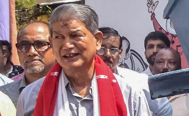 'Uttarakhand Chief Minister's Reason To Quit Biggest Lie': Harish Rawat