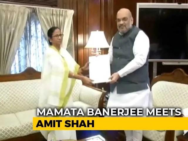 Mamta Banerjee Meets Amith Shah