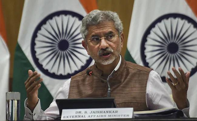 'भारत अभी विशेष रूप से कठिन स्थिति में है': एस जयशंकर ऑन सीओवीआईडी -19 संकट