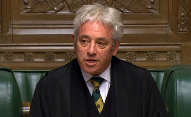 Former UK Speaker Defects To Labour With Attack On PM Boris Johnson