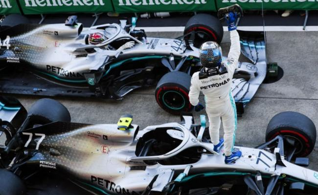 F1 Mercedes Bags Constructors Championship For 2019 As