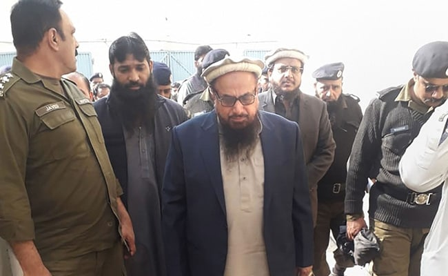 Pakistan Court Jails Hafiz Saeed's 5 Aides In Terror Financing Case