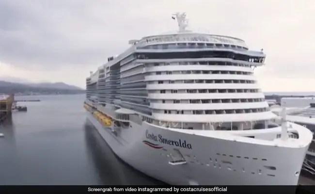 Coronavirus: Italian Cruise Ship Costa Smerald Put Under Lockdown