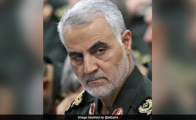 "Iran Says Top General Qasem Soleimani Killers ""Not Safe On Earth"""