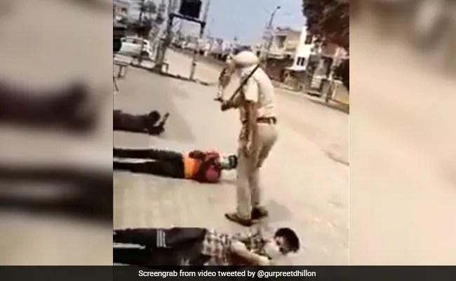 Indian Police Lockdown Memes