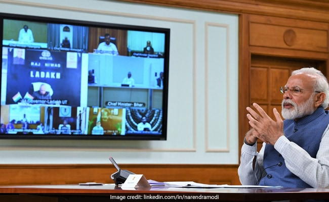 PM To Meet Top Officials At 8 Tonight On Covid And Vaccination Situation