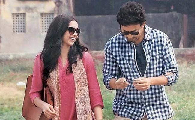 Deepika Padukone and Irrfan Khan in Piku