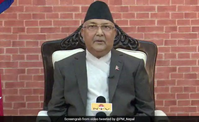 Nepal's Ruling Party Seeks PM KP Oli's Resignation Over Remarks On India