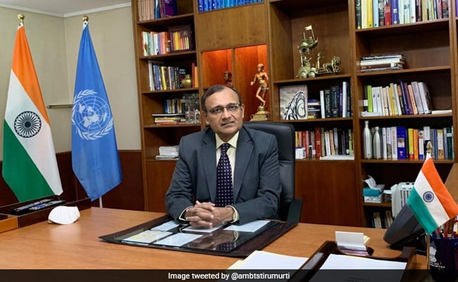 """Overwhelming Support"": Ambassador TS Tirumurti After India's Election To UN Security Council"