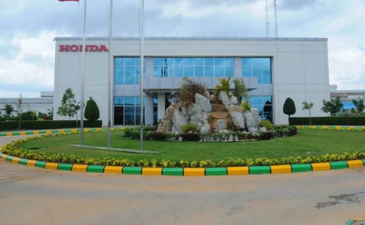 Honda Motorcycle & Scooter India has four plants in India at Karnataka, Gujarat, Rajsthan & Haryana