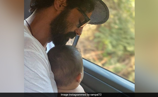 Arjun Rampal's Father-Son Moment With Arik Is For Keeps