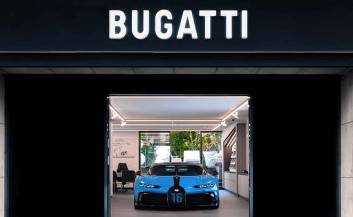 Bugatti has showcased the Chiron Pur Sport exclusively to selected customers.