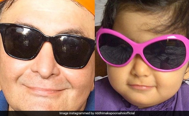 """Riddhima Shares Her """"Most Favourite Pic,"""" Starring Dad Rishi Kapoor"""