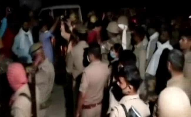 UP Man Dragged Out Of Home At Night, Tied To Tree, Burnt Alive