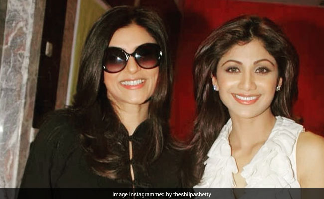 """""""So Happy To See You Back"""": Shilpa Shetty's Appreciation Post For Sushmita Sen And Her Comeback Web-Series Aarya"""
