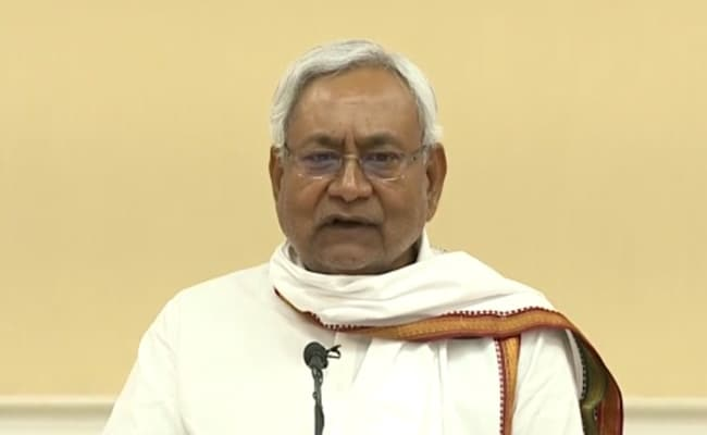 Nitish Kumar Lays Foundation Stone Of Building Projects Of Over Rs 536 Crores