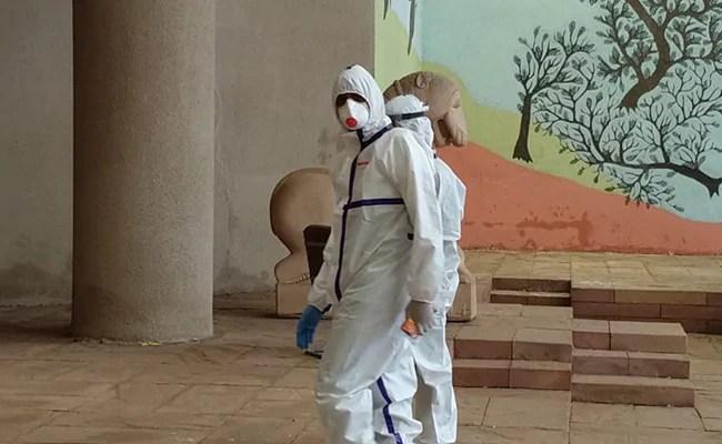 Coronavirus +ve Congress MLA, In PPE Suit, Votes In Rajya Sabha ...