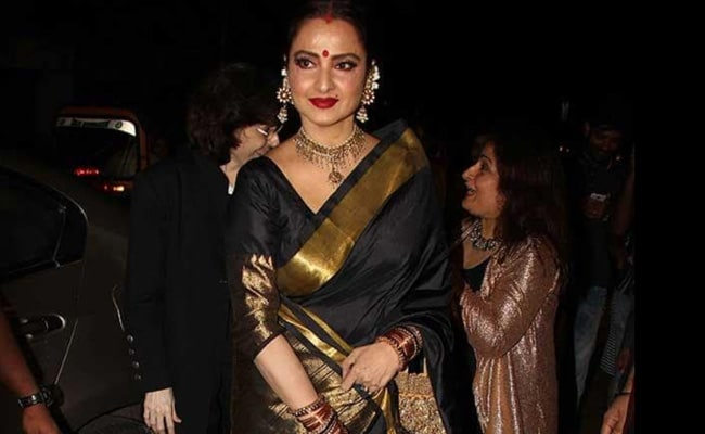 Actress Rekha's Bungalow Sealed By BMC After Security Guard Tests Positive For COVID-19